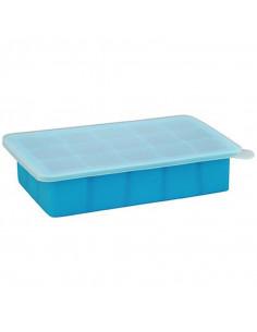 Bac congélation à compartiments bleu