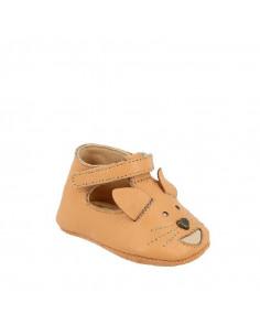 Sandales cuir Loulou T19 - Renard pêche