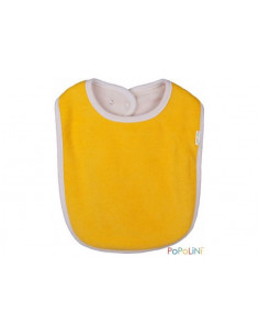 Bavoir jaune coton bio