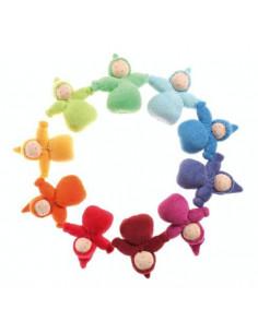 Lot de 10 poupées artisanales - Nains