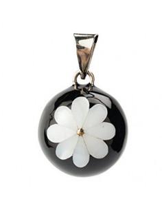 Bola - Noir Fleur Blanche