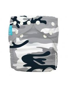 Couche lavable Charlie Banana TU - Camouflage Noir et Blanc