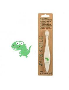 Brosse à dents bio - Dino