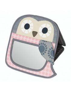 Miroir bébé bio - Grey Pink
