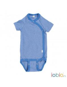 Body Kimono CM coton Bio T50-56 - Bleu