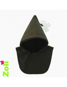 Capuchon bébé imperméable - Noir ( pour veste week end )
