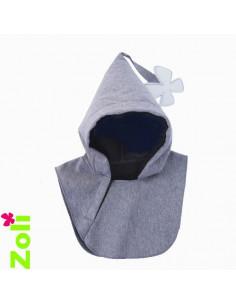 Capuchon bébé imperméable - Gris ( pour veste week end )
