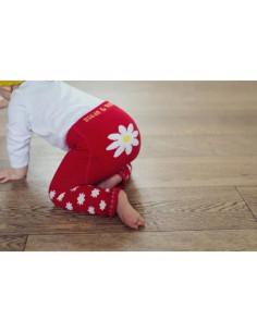 Legging - Red Daisy
