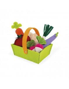 Panier de Légumes - Tissu
