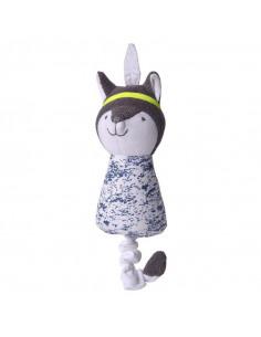 Jouet coton bio Kikadu - Fox Boy