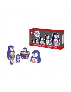 Poupées Gigognes - Zigolos - Pingouins
