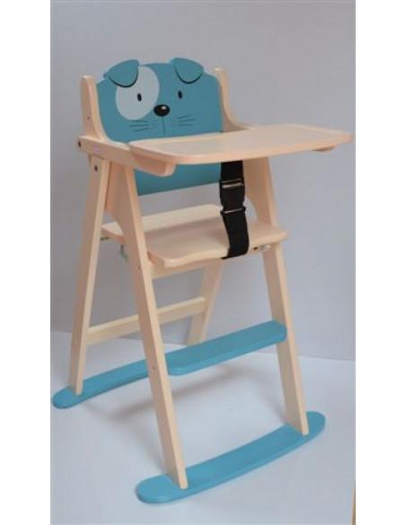 Chaise haute pliante - Chien
