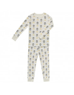 Pyjama coton bio 6-12mois - Pingouin