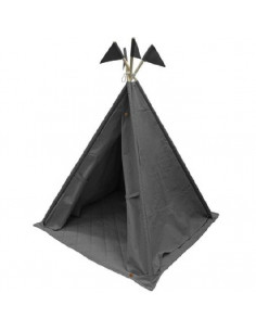 Tipi Canvas 140x112cm - Anthracite