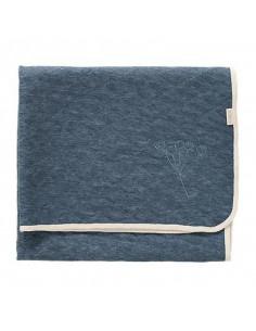 Couverture Nordic 100x150 - Blue indigo