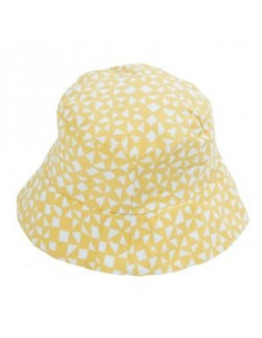 Chapeau de soleil coton bio 12-18mois - Diabolo