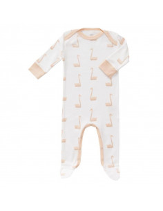 Pyjama avec pied Swan pale peach taille: newborn