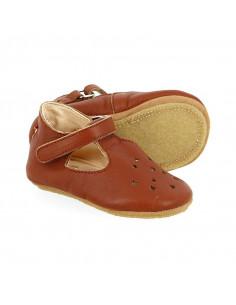 Sandales cuir Lillop T17 - Chataigne
