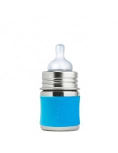 Biberon inox Pura 150 ml - Aqua
