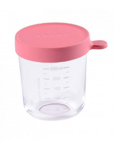 Pot de conservation en verre 250 ml - Dark Pink