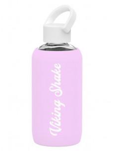 Gourde en verre 420ml - Pink