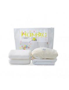Kit d'essai Hamac coton bio - Crème