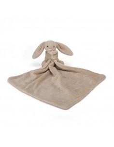 Doudou Lapin Timide beige - 34cm