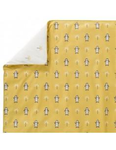 Housse couette coton bio 100x135 - Pinguin