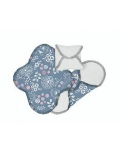 Protège-slips lavables coton bio (3pc) - Jardin