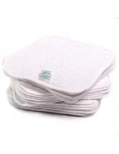 Recharge 25 lingettes coton Twist Premium - Blanc