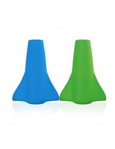 Lot de 2 becs souples pour pochettes universelles Color Change - Bleu Vert