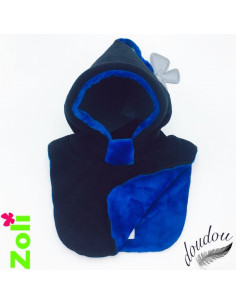 Bonnet bebe Noir - Doudou Bleu