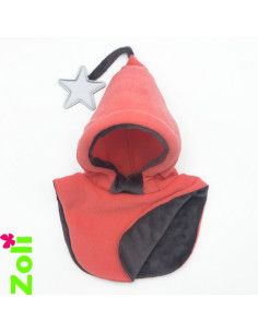 Bonnet enfant Corail - Doudou taupe