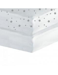 Drap housse pour lit cododo 2pcs - 50x83cm