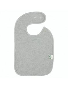 Bavoir coton bio - Grain Grey