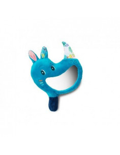Hochet miroir - Marius le rhino