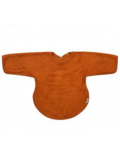 Bavoir tablier avec manches Bambou - Inca Rust