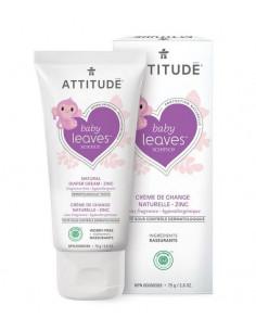 Crème Change naturelle au Zinc Attitude - Sans Parfum