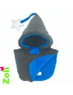 Bonnet enfant Taupe Chiné - Doudou Curacao