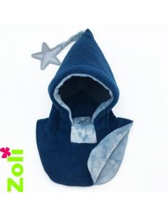 Bonnet enfant Bleu - Doudou bleu gris