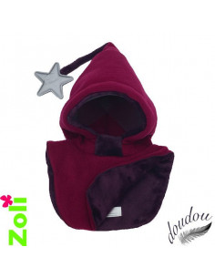 Bonnet enfant Fuchsia - Doudou Prune