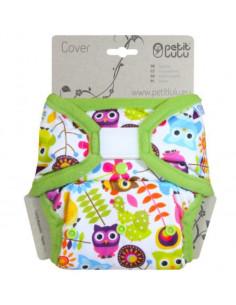 Culotte de protection Velcros XL Petit Lulu - Happy Owls