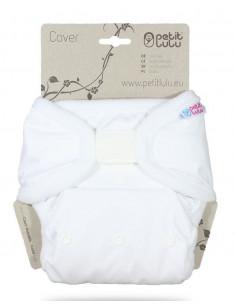Culotte de protection Velcros TU Petit Lulu - Blanche