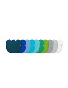 Bavoir lot de 10pc - Bleu