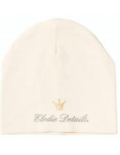 Bonnet été Elodie 0-6m - Vanilla White