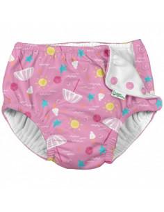 Maillot de bain avec absorbant 12 mois - Pink Beach Day
