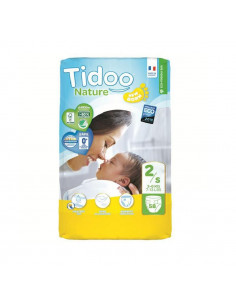 Couches jetables Tidoo Bio - T2/S