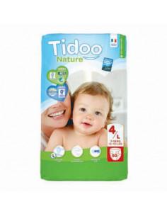 Couches jetables Tidoo Bio - T4/L