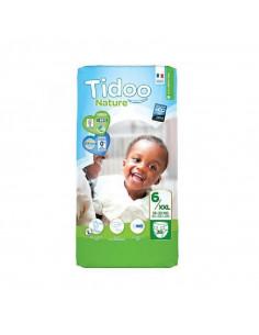 Couches jetables Tidoo Bio - T6/XXL