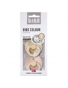 2 Sucettes Bibs 0-6 mois - Vanilla Blush